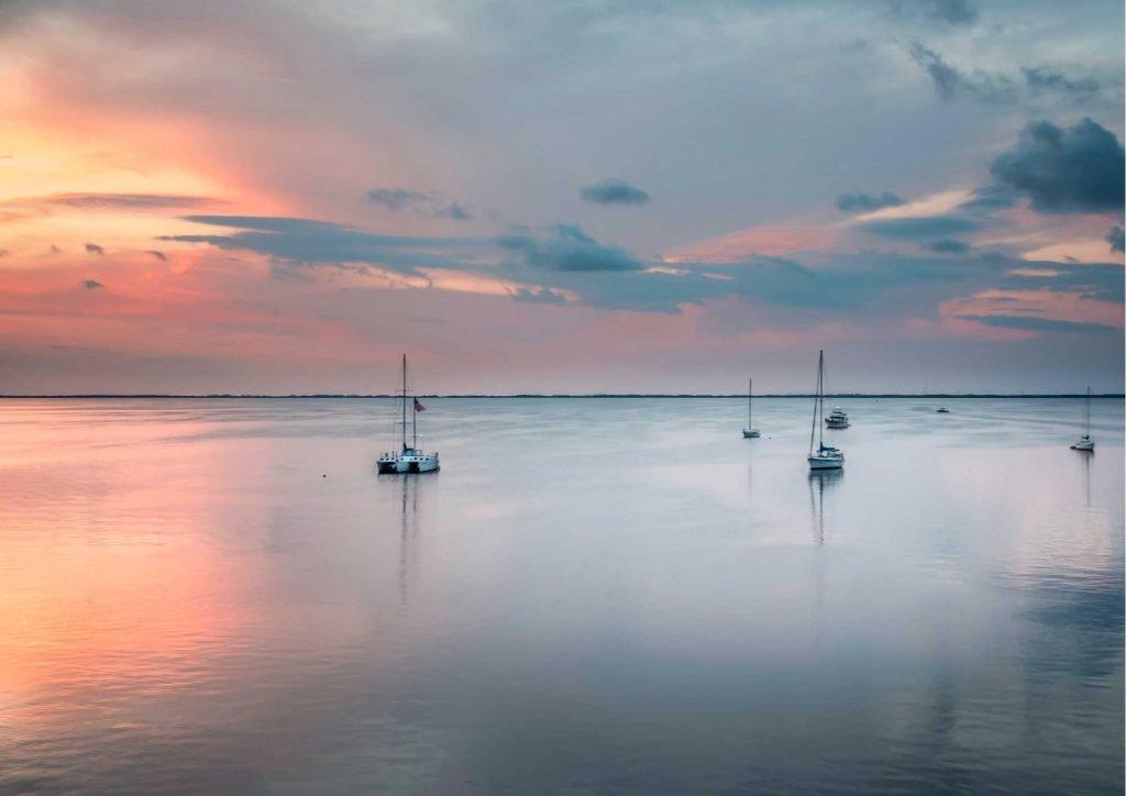 Largo Florida sea